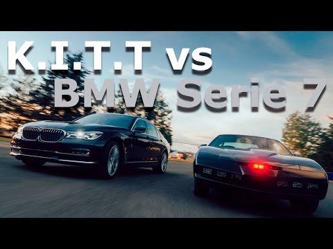 KITT el auto increíble vs BMW Serie 7 - de la fantasía a la realidad