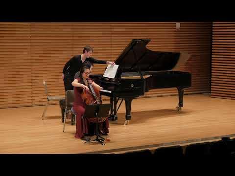 Poulenc Cello Sonata, mvt. 1
