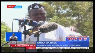 Gavana wa Nairobi-Dakta Evans Kidero awahakikishia wafuasi wake kuwa atarejea mamlakani