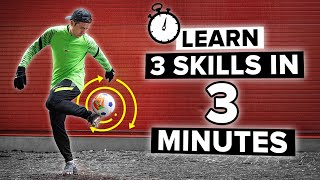 You will learn these 3 skills in 3 minutes!