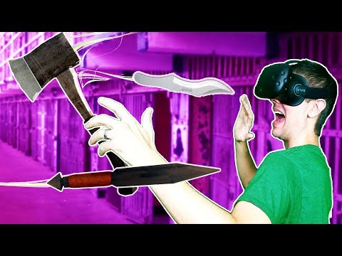 JOINING AN UNDERGROUND FIGHT CLUB IN VR! WITH KNIVES! - Knife Club VR HTC VIVE Gameplay w/ Ctop