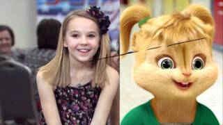 Avery & The Calico Hearts talk about The Chipettes!