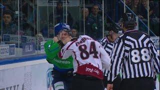 Бой КХЛ: Прохоркин VS Кундратек / KHL Fight: Prokhorkin VS Kundratek