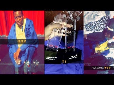 Omzo Dollar gagne 3 trophées au GALSEN HIP HOP AWARDS (Meilleur artiste Masculin,featiring,Mixtape)