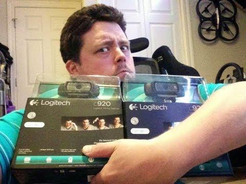 Logitech C920 HD Pro 1080p Webcam Hands on Review – Compare Lifecam Studio HD