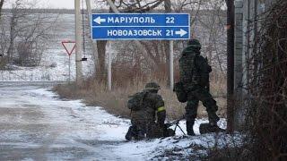 На окраинах Мариуполя идут бои. 25.02.16. Новости Украины сегодня