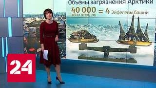 """""""Погода 24"""": загрязнение Арктической зоны"""