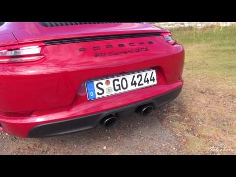 2017 Porsche 911 GTS (991.2): Exhaust Sound / Acceleration 0 - 100 kph / 0 - 62 mph