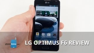 LG Optimus F6 Review