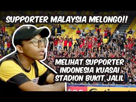 Stadion Bukit Jalil Dijajah Fans Timnas U-16 Indonesia, Suporter Malaysia Sirik