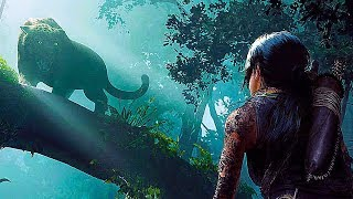 SHADOW OF THE TOMB RAIDER Jaguar Fight NEW Gameplay Demo (2018)