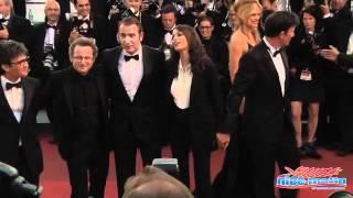 Cannes 2011 Montée des marches The Artist à 55 secondes