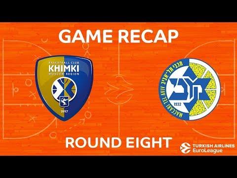 Highlights: Khimki Moscow region - Maccabi FOX Tel Aviv