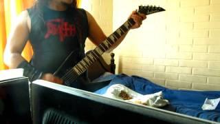 Dark angel - Time Does Not Heal (COVER, brett eriksen's guitar)