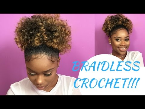 Crochet Top Knot Braid Ponytails For All Textures