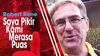 Bermain Imbang saat Bertandang ke Markas Semen Padang, Robert Rene Mengaku Puas