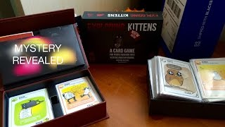 Unboxing Exploding Kittens 1st & NSFW Edition