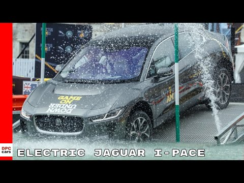 Electric Jaguar I-PACE Hits The Water At Invictus Games