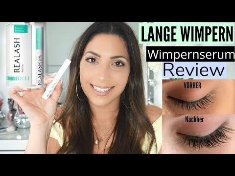 WIMPERNSERUM Realash GETESTET | Lange WIMPERN | Review | MAYRA JOANN