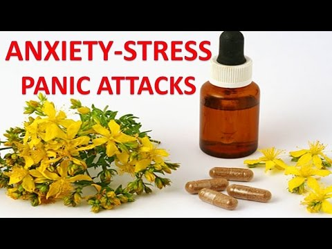 Video Natural Supplements, Vitamins and Herbs For Anxiety, Panic Attacks and Stress