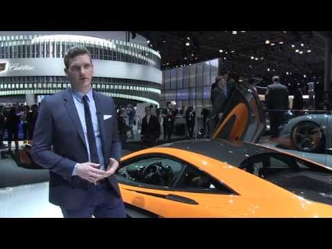Robert Melville on the McLaren 570S Coupé - New York Auto Show 2015