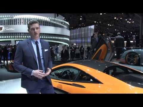 Robert Melville on the McLaren 570S Coupé - New York Auto Show 2015