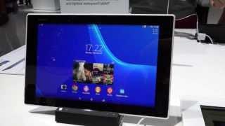 Видеопреглед на новия таблет на Sony – Xperia Z2 Tablet