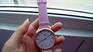 Обзор на часы, меняющие цвет Daniel Wellington