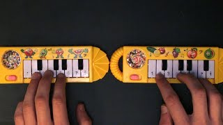 Despacito but it's played on two $1 pianos that I found on ebay