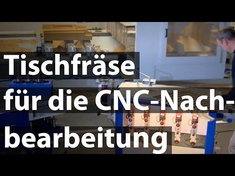 RUWI Tischfräse: CNC Nachbearbeitung