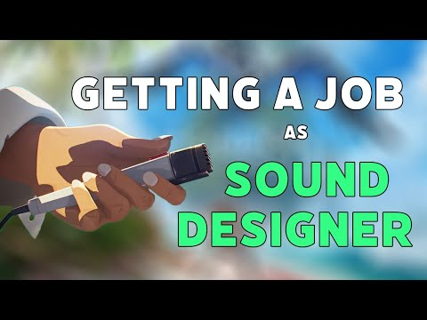 How to Get a Job as a Sound Designer for Video Games (My Journey)