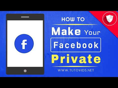 How To Make Your Facebook Completely Private | Mobile App
