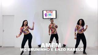 Amém   MC Bruninho E Enzo Rabelo   Show Ritmos   Coreografia