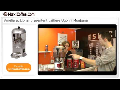 video 2, Distributeur de boisson chaudes(Delice3L/Black)