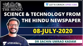 Science and Technology from The Hindu Newspaper | 08-July-2020 | Crack UPSC CSE/IAS  IMAGES, GIF, ANIMATED GIF, WALLPAPER, STICKER FOR WHATSAPP & FACEBOOK