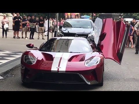 The Grand Tour BEHIND THE SCENES in USA Clarkson vs  Ford GT