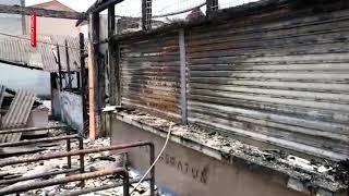Kantin SK Telok Panglima Garang Terbakar