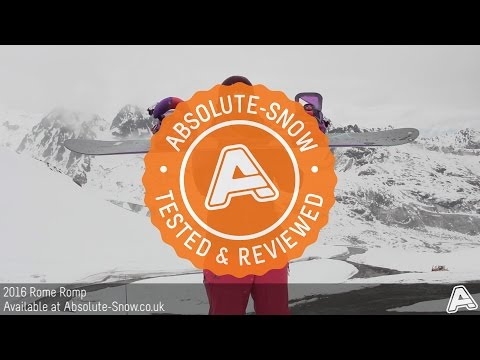 2015 / 2016 | Rome Romp Snowboard | Video Review