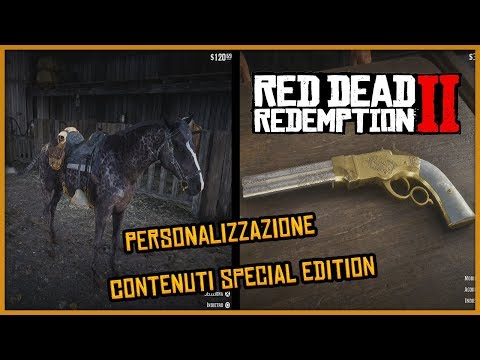 RED DEAD REDEMPTION 2 - COME PERSONALIZZARE ARMI, CAVALLI E VESTITI! (RDR 2 Gameplay ITA)