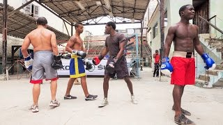 preview picture of video 'World Famous Boxing Gym in Old Havana, Cuba.'