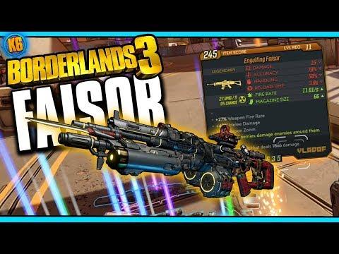 Borderlands 3 - New Legendary - FAISOR - 2 Guns in One?!