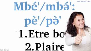 Verbes les plus frequents en langue fe'efe'e Part 2: