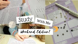 Study With Me    Productive Weekend Edition (Study Motivation)