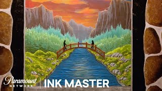 Dimension: A Pane in the Glass - Flash Challenge | Ink Master: Return of the Masters (Season 10)