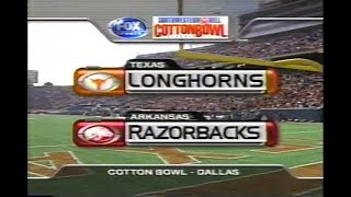 2000 Cotton Bowl #14 Texas vs #24 Arkansas No Huddle