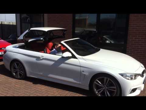BMW 4 Series Convertible Roof Operation