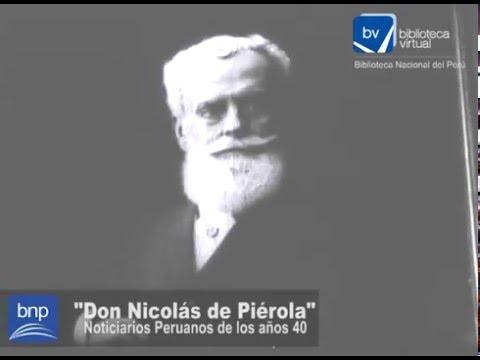 Don Nicolás de Piérola