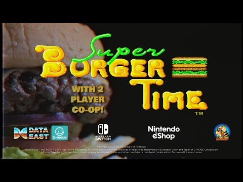 Johnny Turbo's Arcade Super Burger Time For Nintendo Switch thumbnail