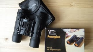 Unboxing - Fernglas 10x25