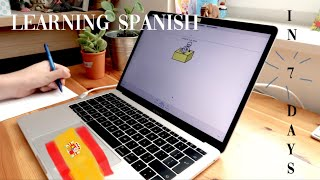learning spanish in 7 days